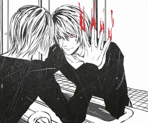 death note, kira, and light yagami image