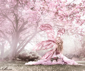 fairy and pink image