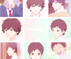 anime, ao haru ride, and manga image