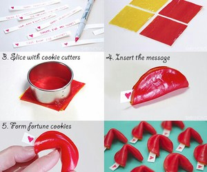 diy, Easy, and fortune cookies image