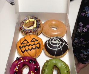donuts and Halloween image