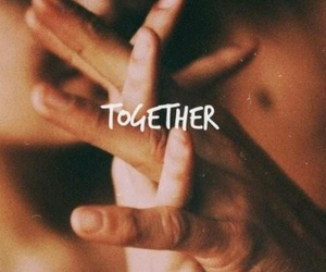 couple, together, and loe image