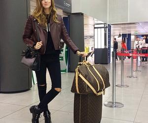 airport, bag, and chiara ferragni image