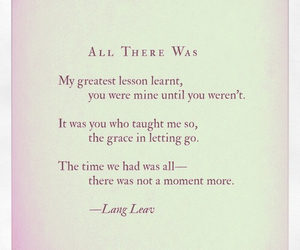 Lang Leav, lost, and mine image