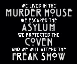 asylum, coven, and evan peters image