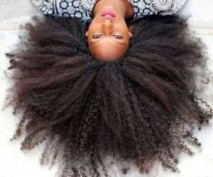natural, natural hair, and 4c 4b image