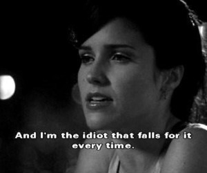 quote, one tree hill, and idiot image