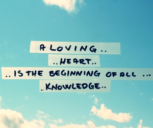 knowledge, sky, and typography image