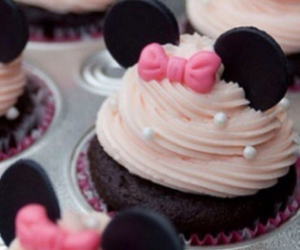 cupcakes, food, and pink image