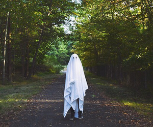 ghost, costume, and Halloween image