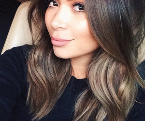 autumn hair, gorgeous hair, and two-toned hair color image