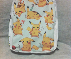 adorable, anime, and pikachu image