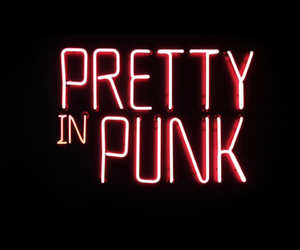 punk, light, and neon image