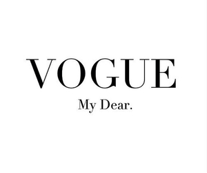 vogue, fashion, and quote image