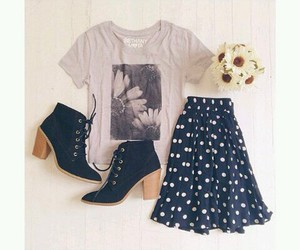 outfit, cute, and floral image
