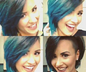demi lovato, new hair, and cute image