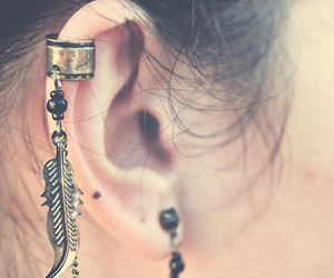 beauty, ear, and cool image