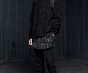 fall winter, men, and fashion image