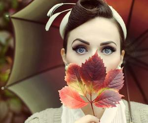 autumn, leaves, and vintage image