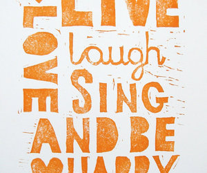 live, love, and happy image