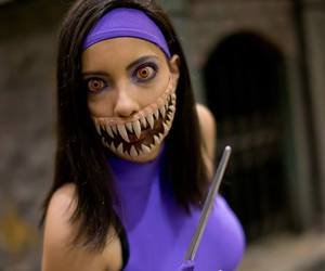 cosplay, mortal kombat, and mileena image