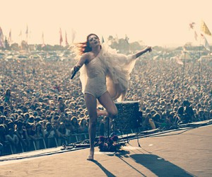 florence and the machine and glastonbury festival image