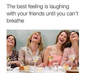 friends, laughing, and girls image