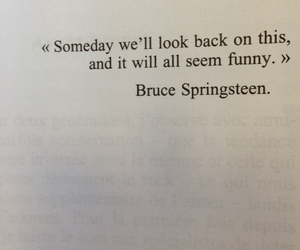 black and white, bruce springsteen, and funny image