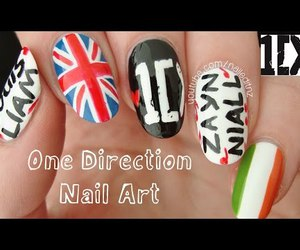 boys, ireland, and nail art image