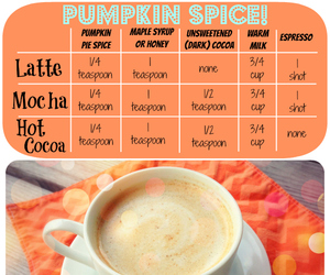 pumpkin spice latte image