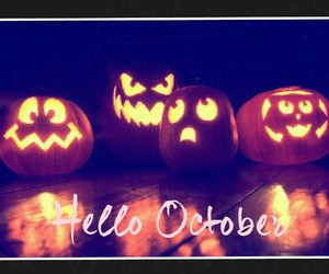 Halloween, booh, and hello october image