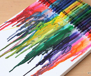 crayon, art, and colourful image