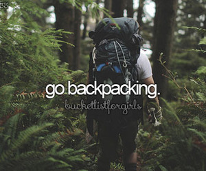 backpacking image