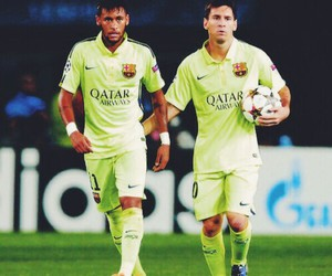 messi, neymar, and soccer image