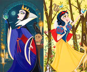 disney, good and evil, and Queen image