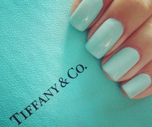 nails, blue, and tiffany image