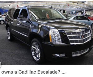 cars, sexy, and cadillac escalade image