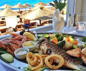 fish, food, and luxury image