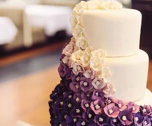 delicious, flower, and ombre image
