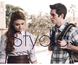 stydia and teen wolf image