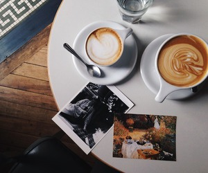 breakfast, coffee, and cappuccino image