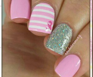 girls, happy, and nails image