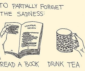 book, books, and feelings image