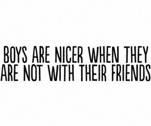 boys, quote, and true image
