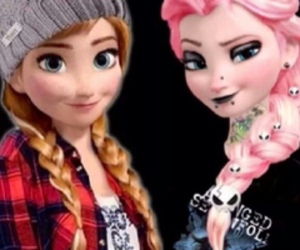 anna, emo, and frozen image