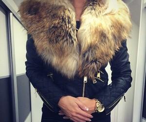 fur, girl, and luxury image