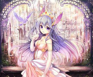 anime, anime girl, and princess image