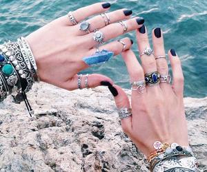 fashion, grey, and nails image