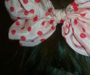 bow, dot, and bows image