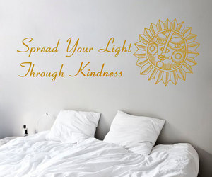 home decor, murals, and buddha quote image